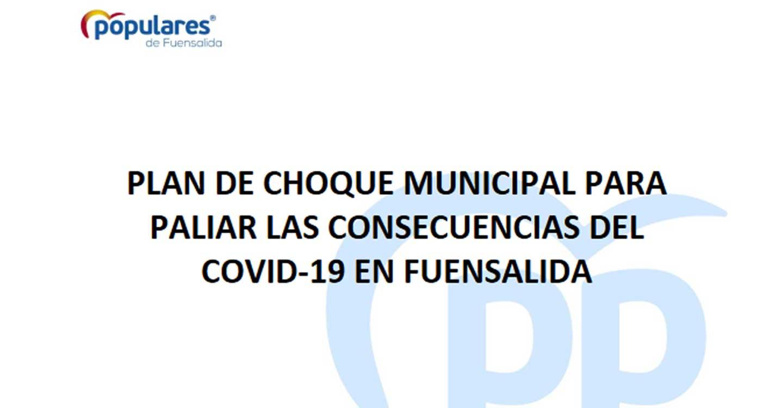 El pacto PSOE-Cs tumba el Plan de Choque del PP para paliar las consecuencias del COVID-19 en Fuensalida