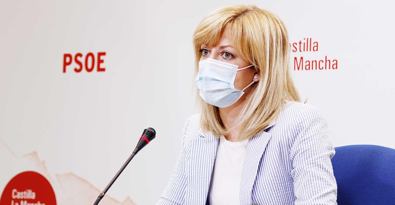 """Abengózar denuncia que el PP juega a la """"confusión"""" y echa en falta que hable del """"buen ritmo de vacunación"""" en CLM"""
