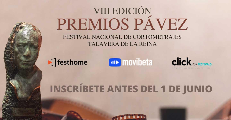 Abierto el plazo de inscripción de Cortometrajes para los Premios Pávez 2021
