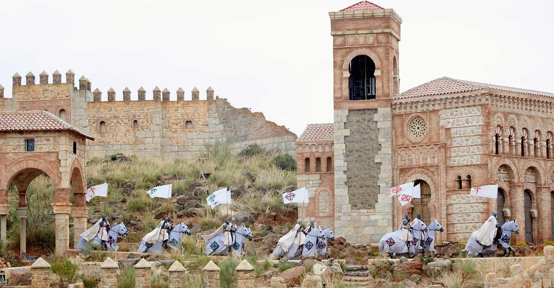 Los héroes y los caballos de Puy Du Fou España se ponen en las manos de los aprendices de