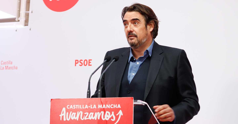 """Esteban critica que el proyecto político del PP de CLM lo presente Conde, """"vetado de por vida por el Consejo de Europa"""""""