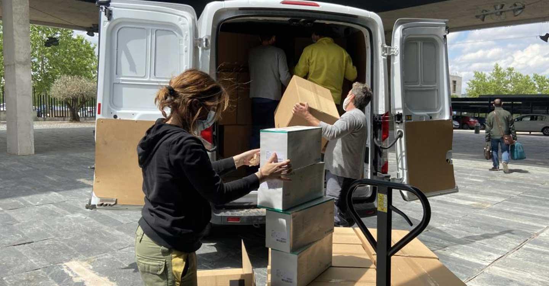 El Gobierno de Castilla-La Mancha ha enviado esta semana más de 230.000 artículos de protección a los centros sanitarios