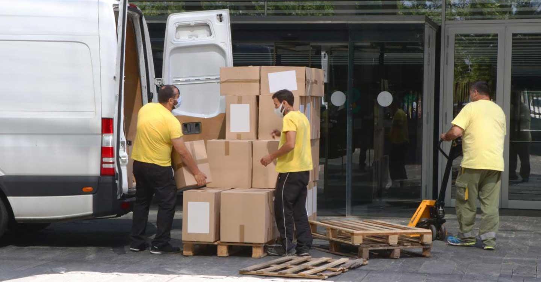 El Gobierno de Castilla-La Mancha ha enviado esta semana más de 224.000 artículos de protección a los centros sanitarios