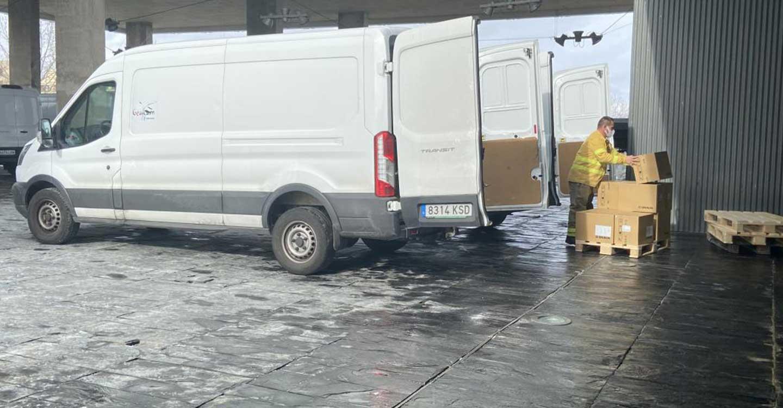 El Gobierno de Castilla-La Mancha ha distribuido más de 807.000  artículos de protección para profesionales sanitarios durante esta semana