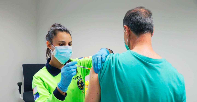 El ritmo de vacunación en Castilla-La Mancha permite que descienda la Incidencia Acumulada y el número de hospitalizados por COVID-19