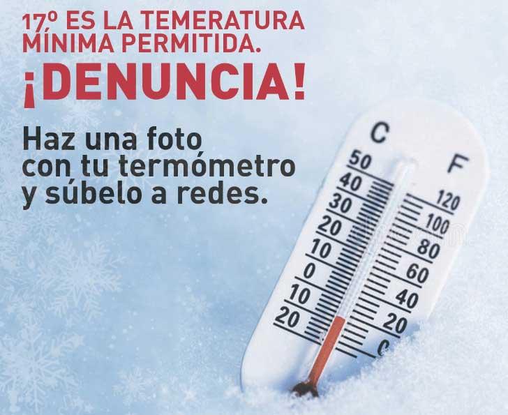 Temperatura Mínima 17º