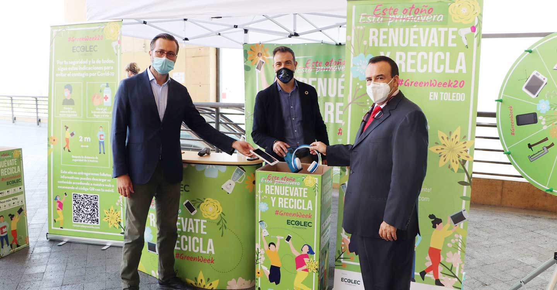 Toledo acoge la #GREENWEEK20 de la Fundación Ecolec con el objetivo de concienciar sobre el reciclaje de aparatos eléctricos y electrónicos