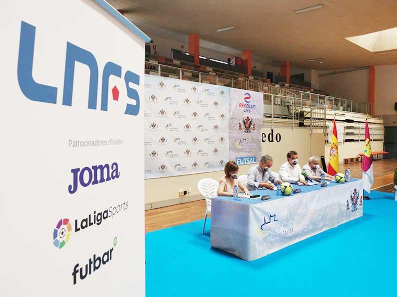 Toledo contará a partir de otoño con una Academia Red Blue de la Liga Nacional de Fútbol Sala tras suscribir un convenio