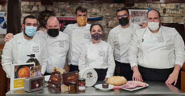 La cocina castellanomanchega cautiva el paladar de las sociedades gastronómicas de San Sebastián de la mano de Raíz Culinaria