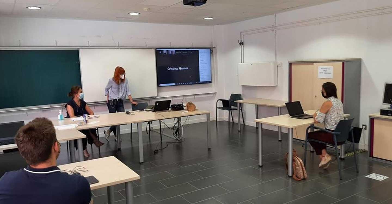 Una treintena de jóvenes cursa ya la formación bilingüe dentro de las Becas de Internacionalización promovidas por el Gobierno regional