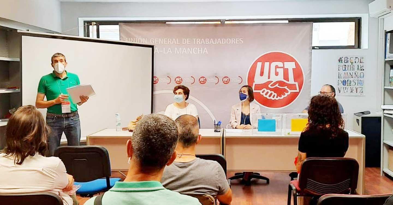 UGT constituye el sector de Carreteras, Urbanos y Logística de Castilla-La Mancha