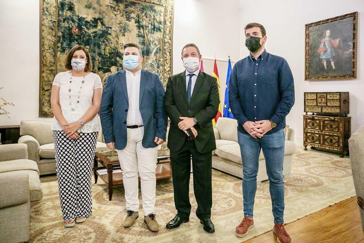 El Gobierno de Castilla-La Mancha valora el diálogo social como garantía para impulsar la recuperación económica y social de la región