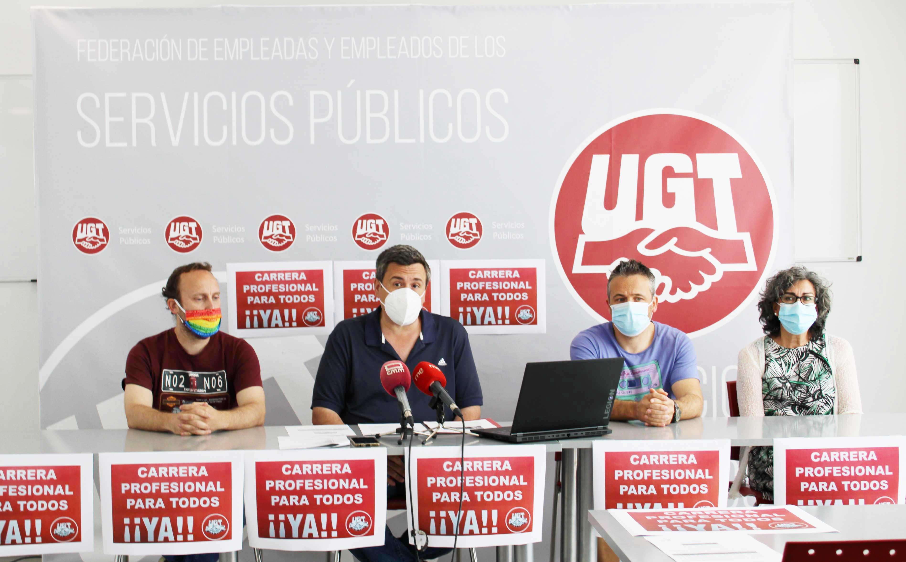 UGT CLM critica la falta de voluntad del Gobierno regional para continuar con la mejora de las condiciones laborales de los profesionales de la Sanidad