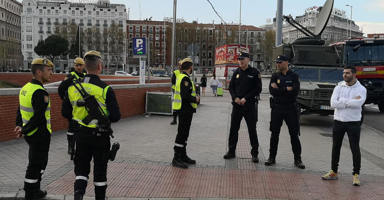 El Ministerio de Defensa despliega una sección de la UME en Cuenca para apoyar a la Guardia Civil en la labor de garantizar la seguridad