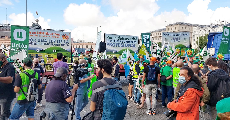 La Unión de Castilla-La Mancha defiende ante el Ministerio de Agricultura una PAC para los agricultores