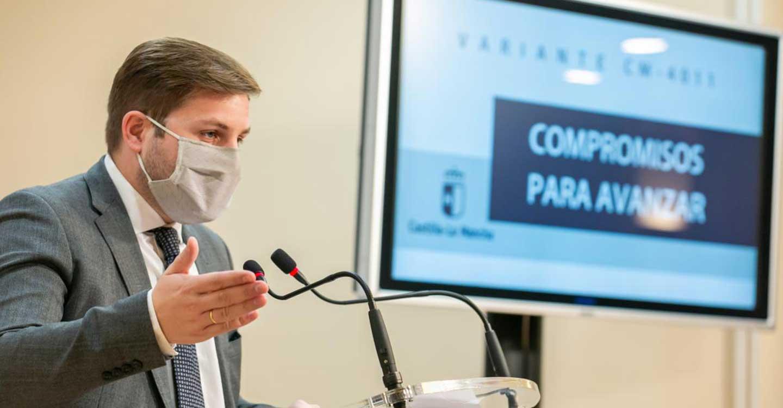 El Ejecutivo regional licitará en las próximas semanas el estudio informativo de la Variante de la CM-4011 en Fuensalida y Portillo de Toledo