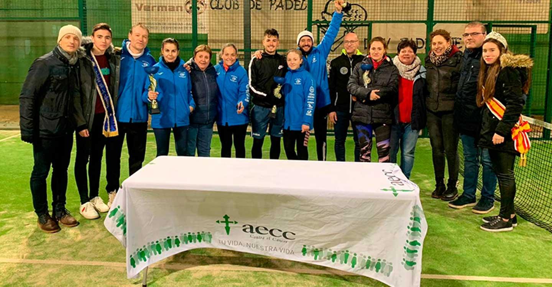 Exitoso IV Torneo de Pádel en La Villa de Don Fadrique a beneficio de la lucha contra el cáncer