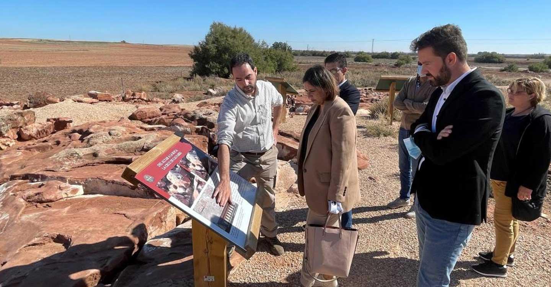 El Gobierno de Castilla-La Mancha suma a la red de yacimientos rupestres visitables de Castilla-La Mancha el de la Casa del Oro de Quero (Toledo)