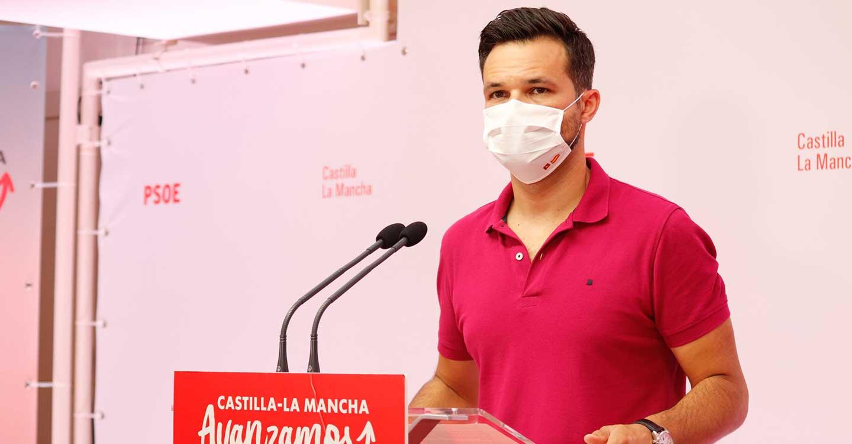 """Zamora critica el silencio de Núñez sobre el trasvase y lamenta que """"se vuelve a doblegar"""" ante sus dirigentes nacionales en contra de CLM"""