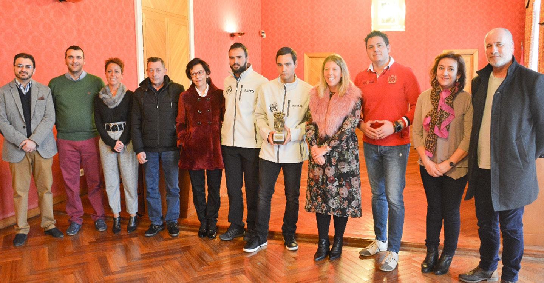 Reconocida la trayectoria deportiva de Antonio Gutiérrez, campeón del mundo de para-kárate