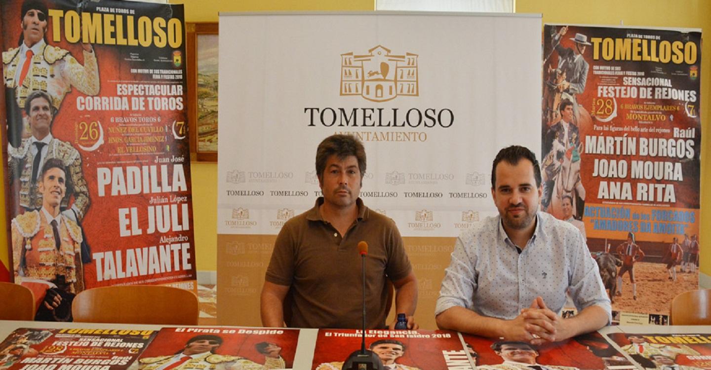 Cartel de primera para la corrida de Feria en Tomelloso: Padilla, El Juli y Talavante