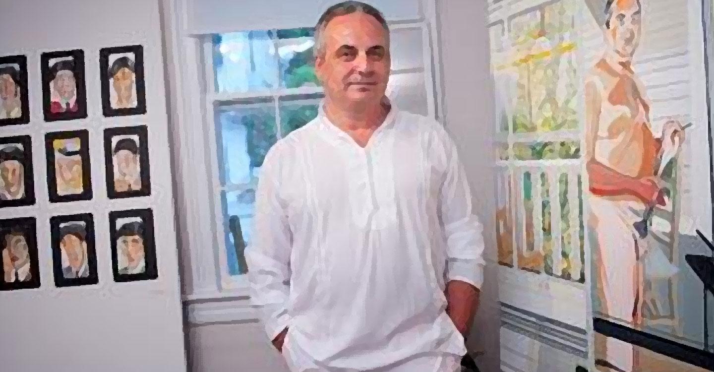 Pepe Carretero inaugura exposición en la Embajada de Italia
