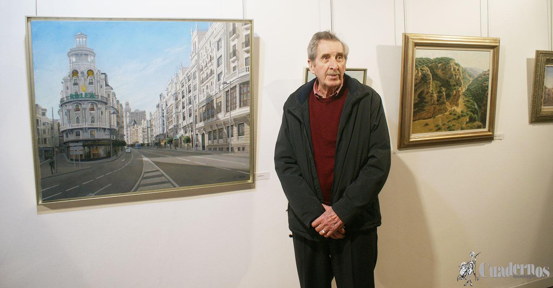 Inauguración de la Exposición de pintura del artista de Socuéllamos José Lara en la Posada de los Portales