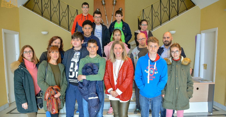 Alumnos del Ponce de León visitan el Ayuntamiento