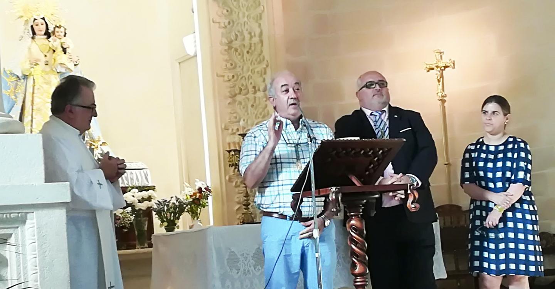 Alejandro Ramírez juró su cargo como presidente de la Hermandad Virgen de Las Viñas de Tomelloso