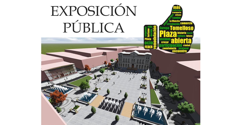 El jueves se abre una exposición pública sobre el proyecto de remodelación de la plaza de España