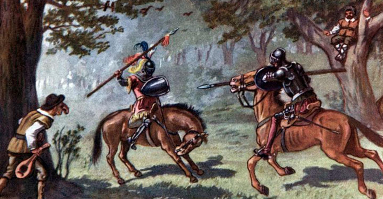 """Don Quijote de la Mancha: """"El vizcaíno Gallardo"""""""