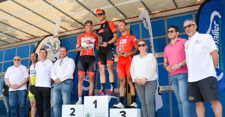"""Javier Ley Fernández ganador de la IV Ruta Ciclodeportiva """"Francisco Cerezo"""""""