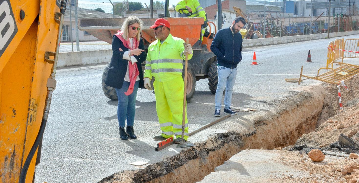 El primer tramo de la carretera de Pedro Muñoz se convertirá en una avenida completamente urbanizada