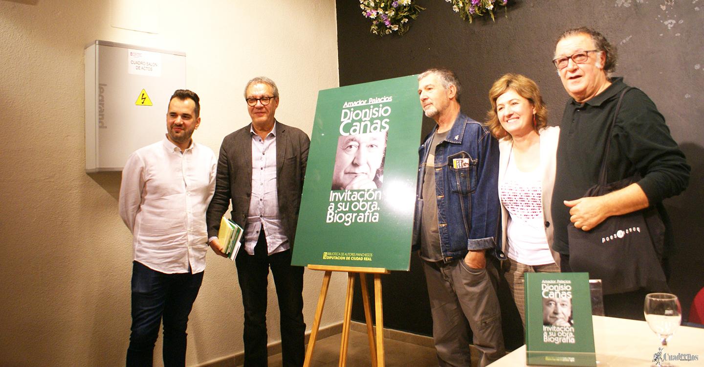Presentación del libro dedicado a la biografía de Dionisio Cañas