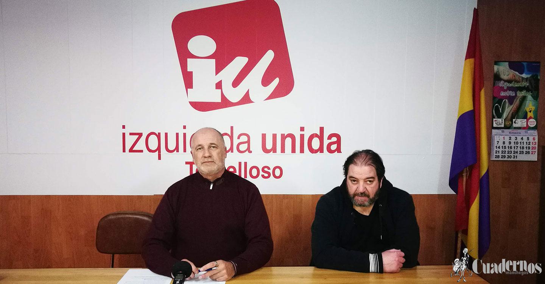 Izquierda Unida aborda tres temas de interés: emergencia social, situación del hospital y presupuestos municipales