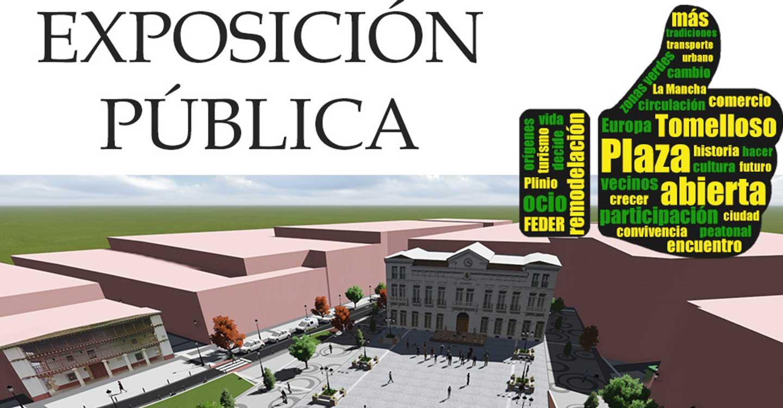 Se amplia hasta el 7 de enero la exposición del proyecto de remodelación de la plaza de España