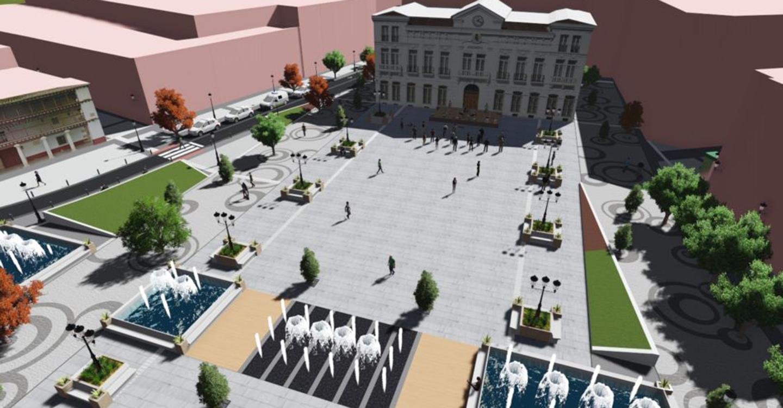 Las obras de la remodelación de la plaza de España de Tomelloso comenzarán en breve