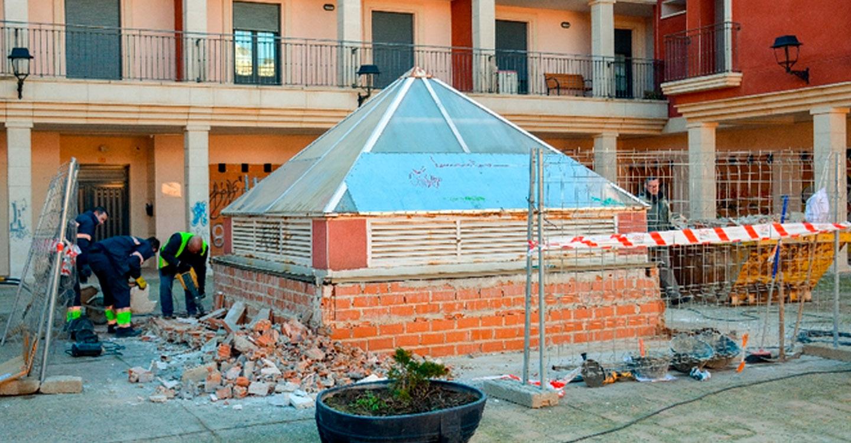 Iniciados los trabajos de mejora en la calle Juan Pablo II