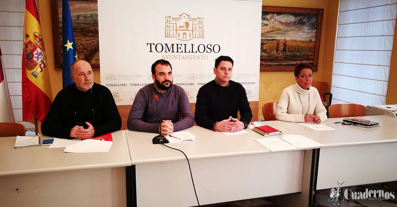 PSOE, Ciudadanos, UPyD e Izquierda Unida presentan el Pacto en defensa de los intereses de Tomelloso.