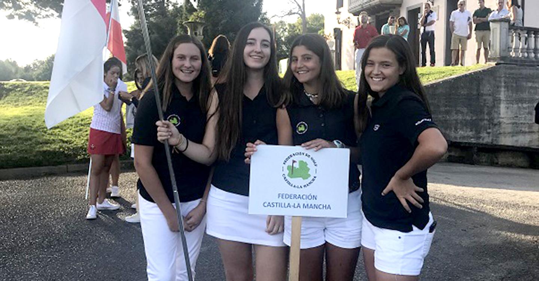 Castilla La Mancha ha concluido en séptima posición su participación en el Campeonato de España Interautonómico Sub 18 Femenino de Segunda División, que se ha celebrado en el Club de Golf Larrabea, en Álava.