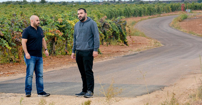 El Ayuntamiento sostiene su compromiso de dar por concluido el asfaltado del camino de Arenales