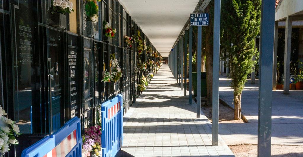 Finaliza una nueva intervención en el Cementerio municipal