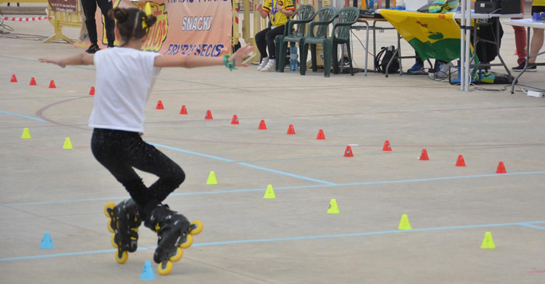 Rodrigo destaca el gran trabajo del Roller Skate, impulsor de la primera Liga Regional Freestyle cuya primera etapa se ha celebrado en Tomelloso