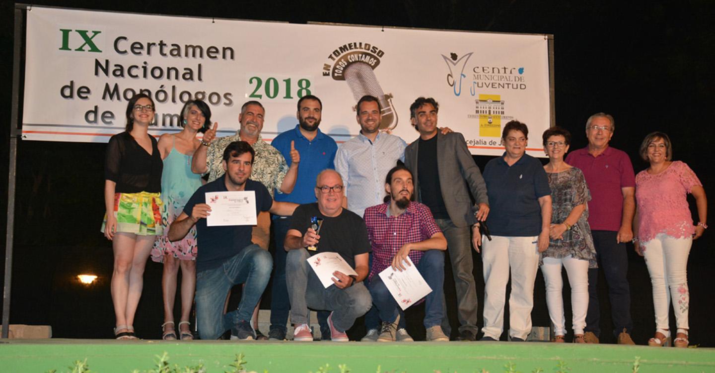 """Javier Traba, ganador del IX Certamen Nacional de Monólogos """"En Tomelloso todos contamos"""""""
