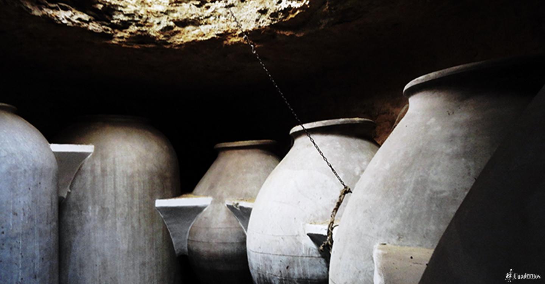 Características de la construcción de las distintas cuevas en Tomelloso para la elaboración y conservación de vinos