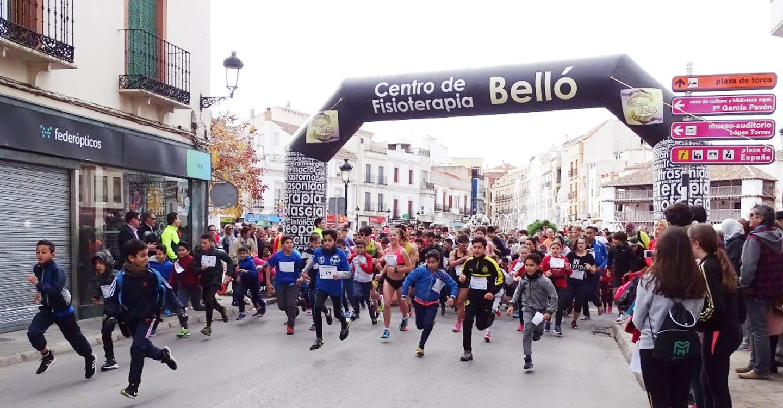 Extraordinaria participación de corredores en la Carrera Popular de Tomelloso