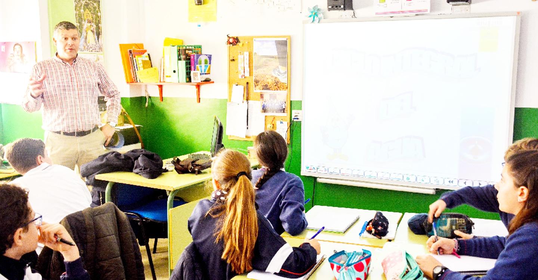 Esta semana comienza en el colegio Santo Tomás el módulo del Agua de la Agenda 21 Escolar