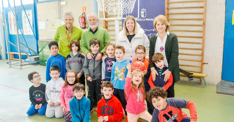 Llega nuevo material a los colegios de Tomelloso para la práctica de deportes alternativos