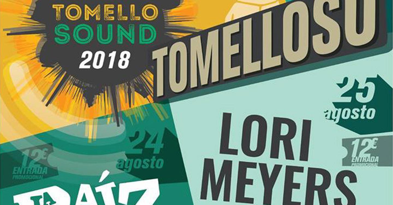 Los Manterolas, Kortxo Punk y Deskaraos, completan el cartel del Tomellosound 2018