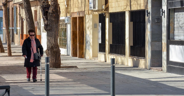 Finaliza la fase IV de reparación de acerados en la avenida Don Antonio Huertas